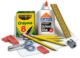 School Supply Lists for YES & YMS