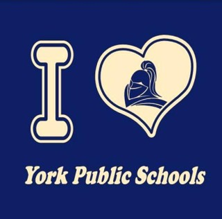 I LUV York Public Schools T-Shirts