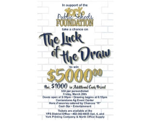 Luck of the Draw – March 29th
